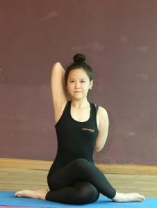 gomukhasanaa  praveen yoga